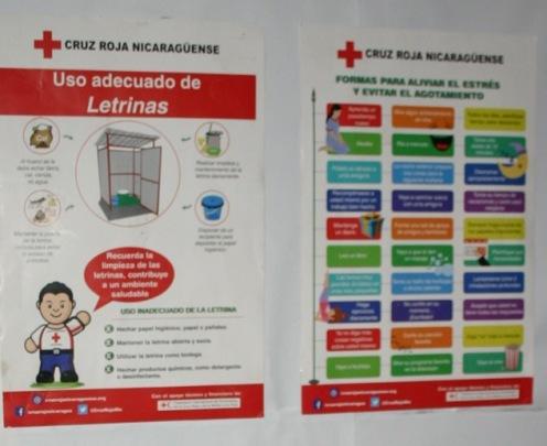 Community public health message, Nicaragua